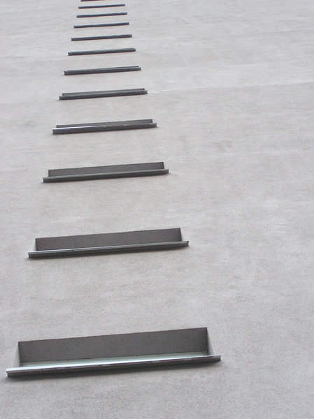 Wall of the building