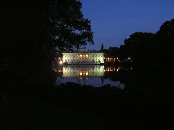Palace on water