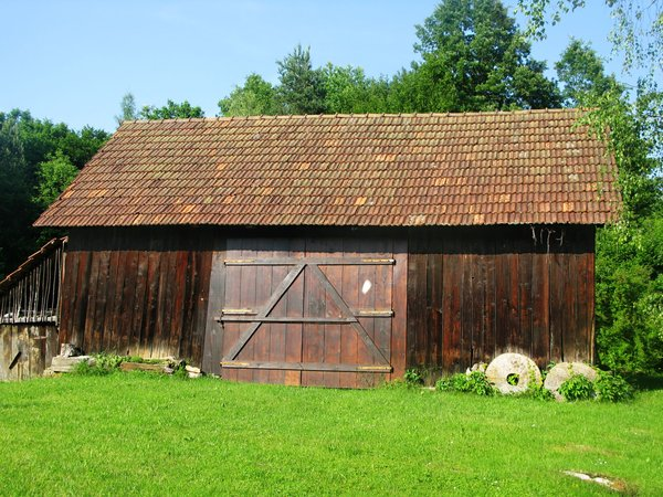 rural barn: none