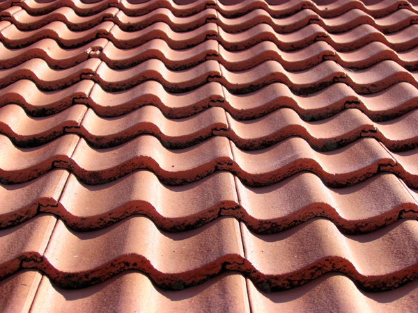 roof waves: angles on roof tiles