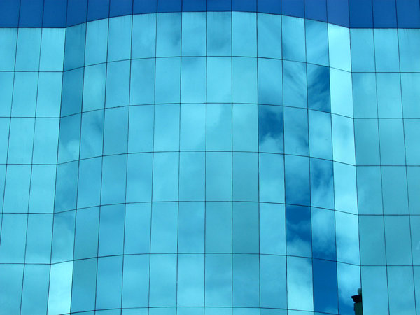 blue glass reflections1