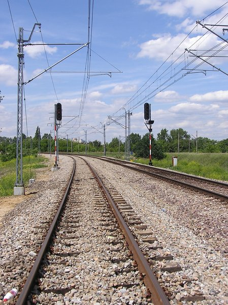 Rails: Railway in Poland.