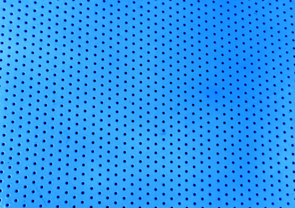 perforated blue