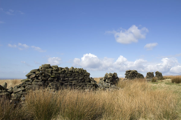 Old drystone walls
