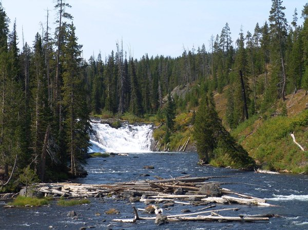 Lewis Falls - Yellowstone