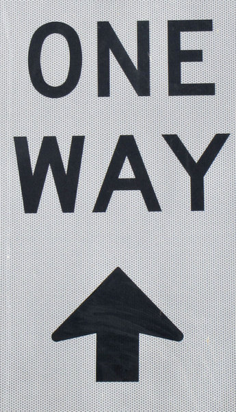 one way up?1B