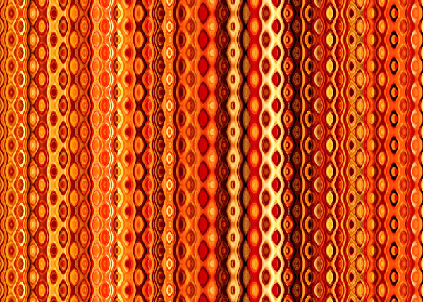 orange chain curtain1
