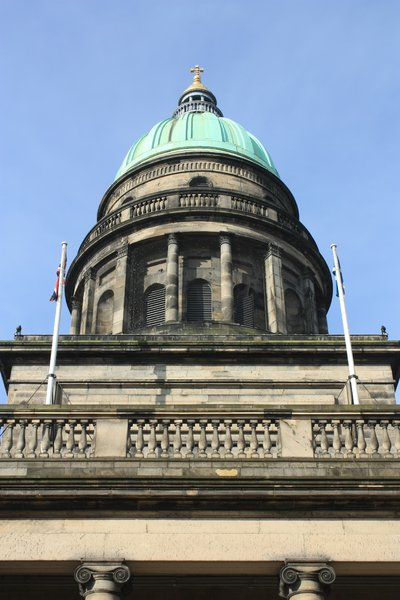 Georgian Dome: Dome of what was originally a Georgian church in Edinburgh