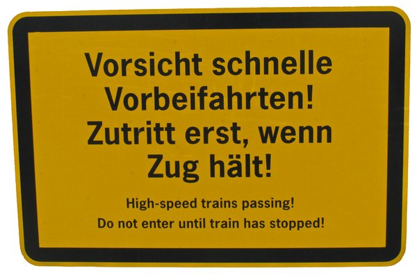 beware of passing trains 2