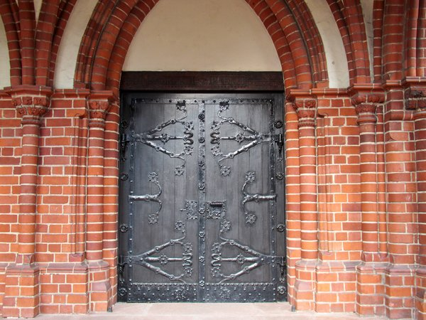 decorative church entrance
