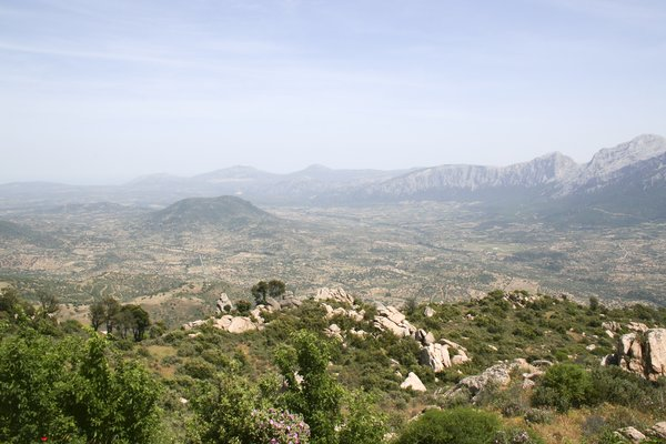 Sardinia landscape: Landscape of the interior of Sardinia.