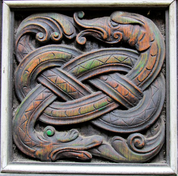 decorative wooden snake: decorative wooden snake