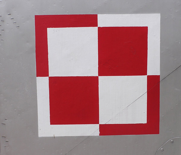 Polish Air Force checkerboard