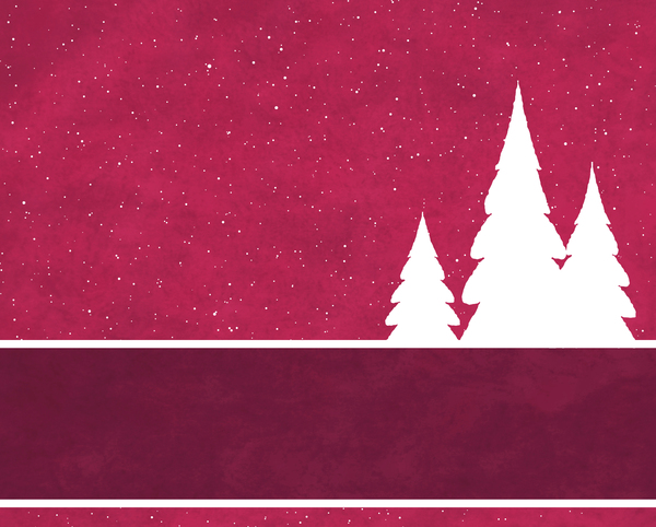 Christmas Tree Banner 1: Abstract Christmas tree banner