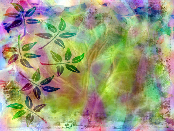Leafy Collage 1: A bright collage of natural shapeswith a leaf motif. A useful standalone arty image, or useful for a texture, background or fill. Perhaps you would prefer this: http://www.rgbstock.com/photo/nNTVSho/Dreamy+Pastel+Background+3
