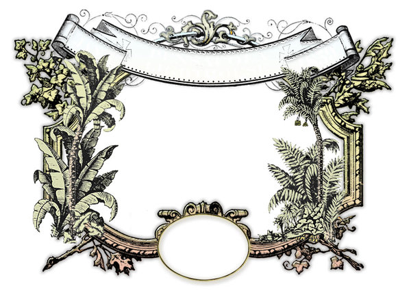 Tropical Victorian Frame: Victorian humidity