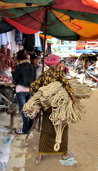 local market2: local Cambodian general market