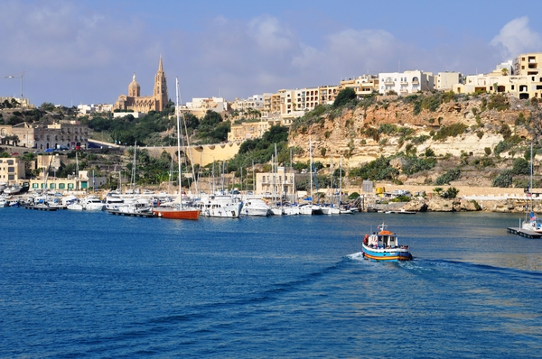 Crossing to Gozo from Malta
