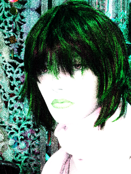 Grunge Portrait Woman 5