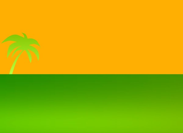 Palm Tree Graphic 3