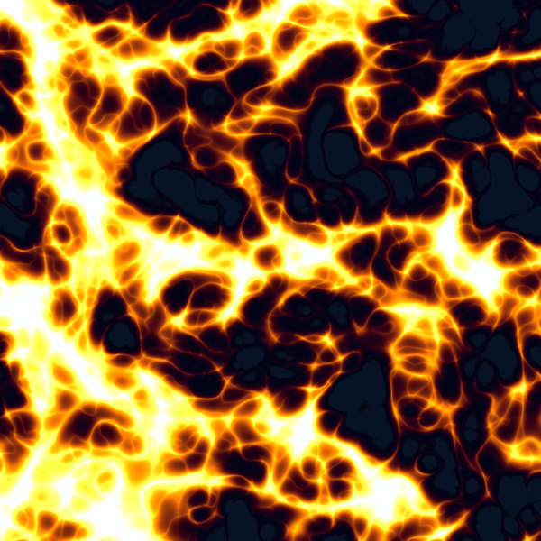 Fire: An image of fire or lava. Great illustration, background, texture or fill, etc.