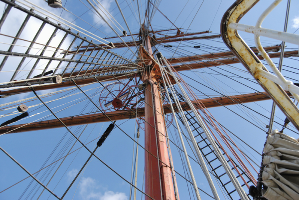 Mast and Ropes