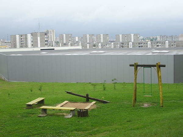Vilnius hills and playground