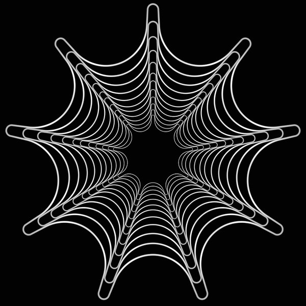 Stylised Web 2: A stylised spider's web in white against a black background. You may prefer this:  http://www.rgbstock.com/photo/mTi4gx2/Spider%27s+Web+1