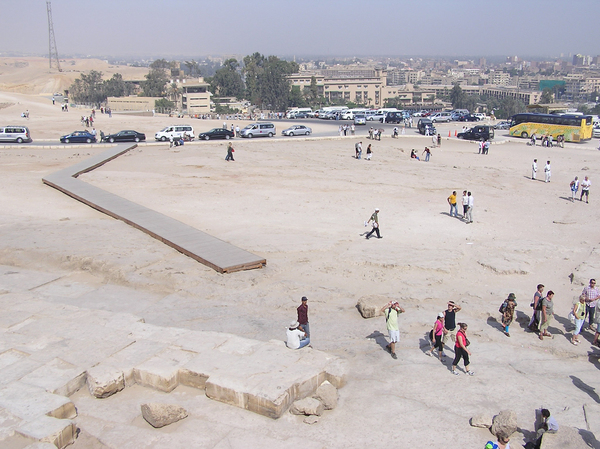 Giza - a view from Pyramids