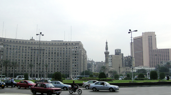 Tahrir Square: A famous square, where egiptian revolution started.