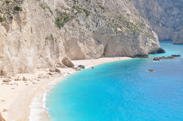 Porto Katsiki 3: Beautiful beach Porto Katsiki, located on a greek island Lefkada
