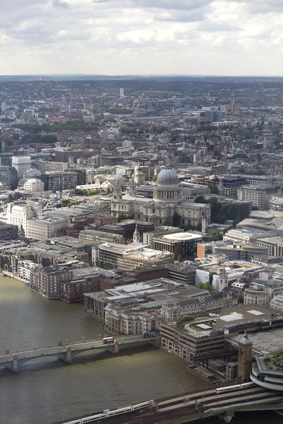 London from the Shard 11