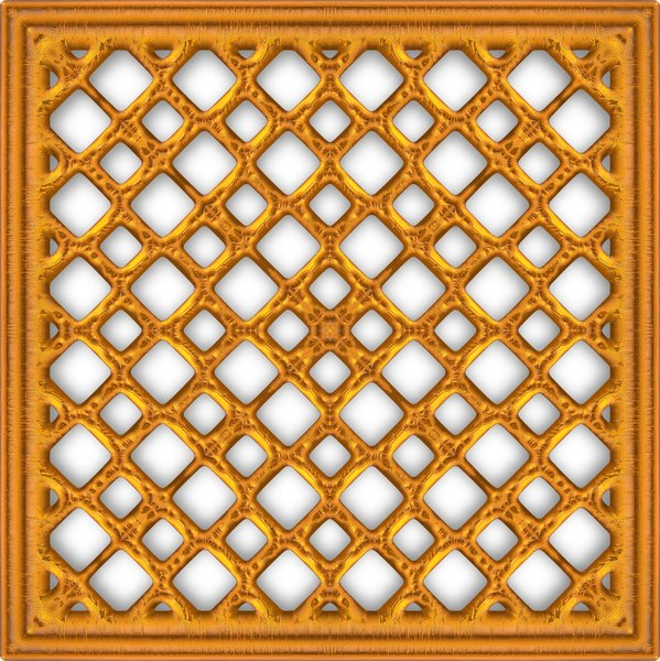 Gold Lattice 2: 3D gothic geometric golden metal window or grille. Great texture, fill or element. You may prefer:  http://www.rgbstock.com/photo/nK7FIC4/Gold+Lattice  or:  http://www.rgbstock.com/photo/n2UcyTK/3D+Gothic+Lattice