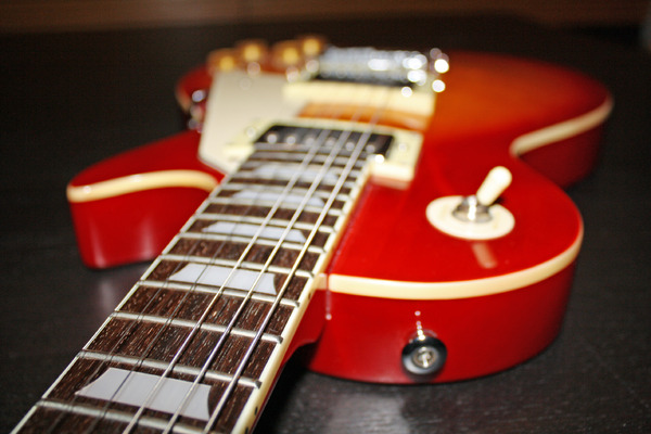 while my guitar gently wh...: guitar - series in my living-room