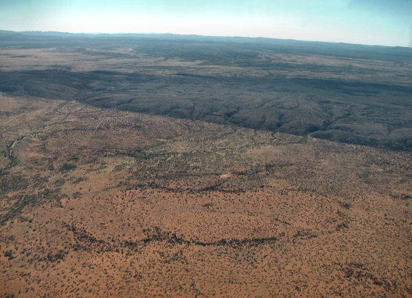 down below34: central Australian terrain seen from above
