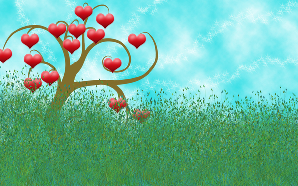 love tree: Thank you for downloading. Please send me an e-mail.This graphic is dedicated to all lovers.