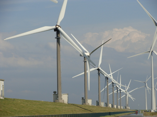 Windenergy 4: Windturbines in Delfzijl (The Netherlands)