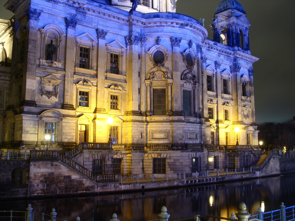 Berlin Cathedral at night 3