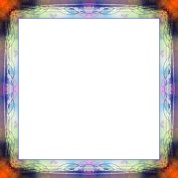 Grungy Collage Frame 1: A grungy, coloured ornate frame with a unique border. You may prefer:  http://www.rgbstock.com/photo/nVqMwoW/Arty+Grunge+Background+6  or:  http://www.rgbstock.com/photo/nzn1bS0/Grungy+Black+Frame
