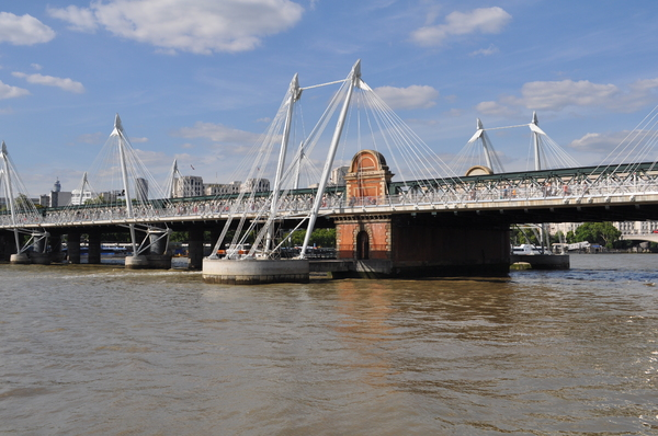 Hungerford Bridge, London