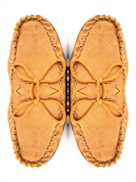 brown suede butterfly