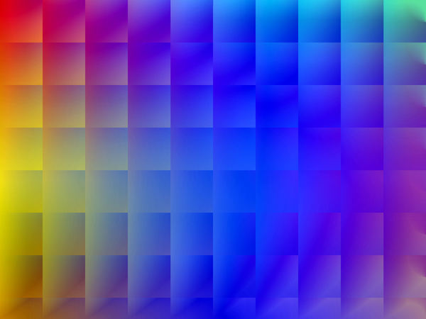 boxed rainbow: abstract background, texture, patterns and perspectives