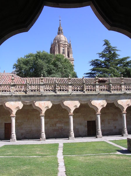 old cloister in Salamanca
