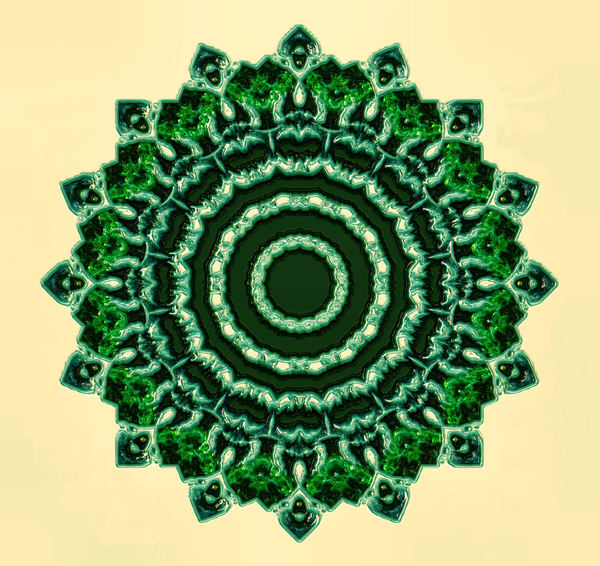 raised emerald mandala1