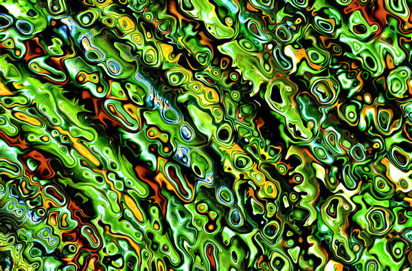 swirly green textures1