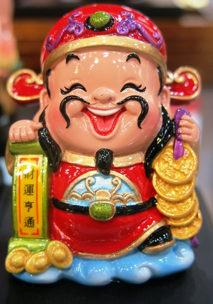 Chinese lucky money man