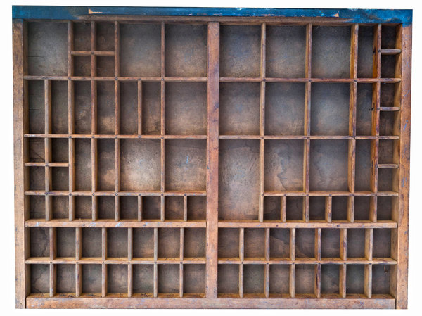 Wooden compartments
