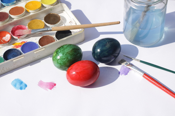 Painting Easter eggs 2