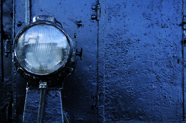 Steam locomotive lamp