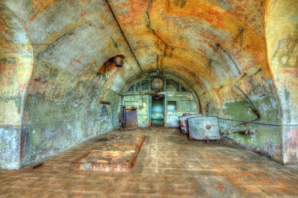 Old fortress kitchen - HDR
